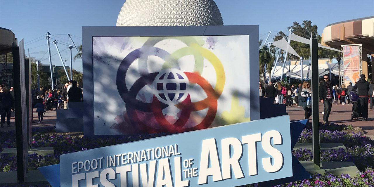 EPCOT's International Festival of The Arts Returns January 18th