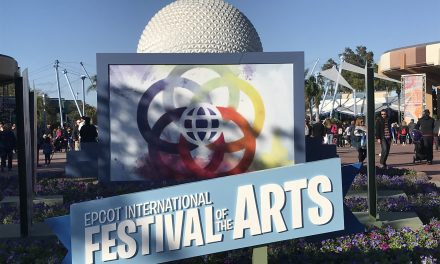 EPCOT's International Festival of The Arts Returns January 18th
