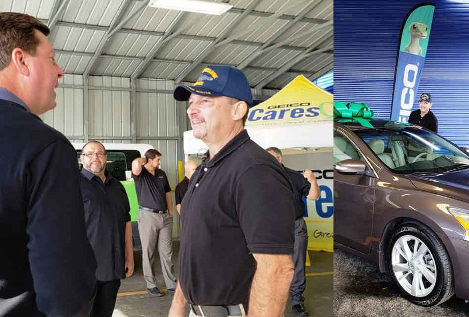 Homeless Veteran Program Graduate Rewarded with a Car from Local Organizations Making a Positive Difference