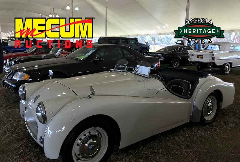 Mecum Auto Auction 2019 Races into Osceola Heritage Park Jan. 3-13