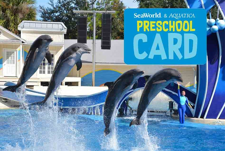 SeaWorld and Aquatica Offering Free admission for Children 5 years Old and Under