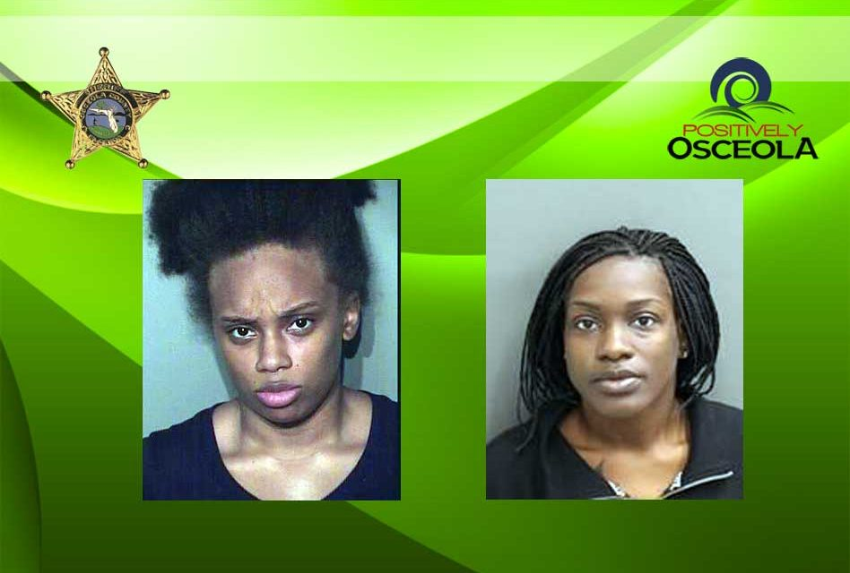 Osceola Deputies Arrest Two Woman for Stealing Purses in West 192 Area