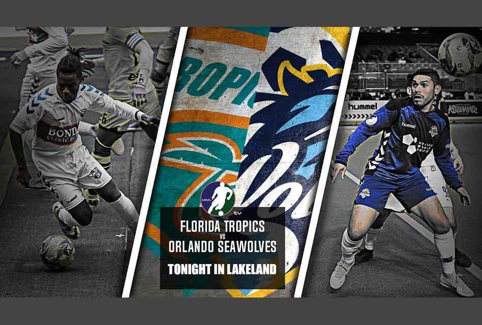 Orlando SeaWolves Travel to Lakeland to Battle the Florida Tropics