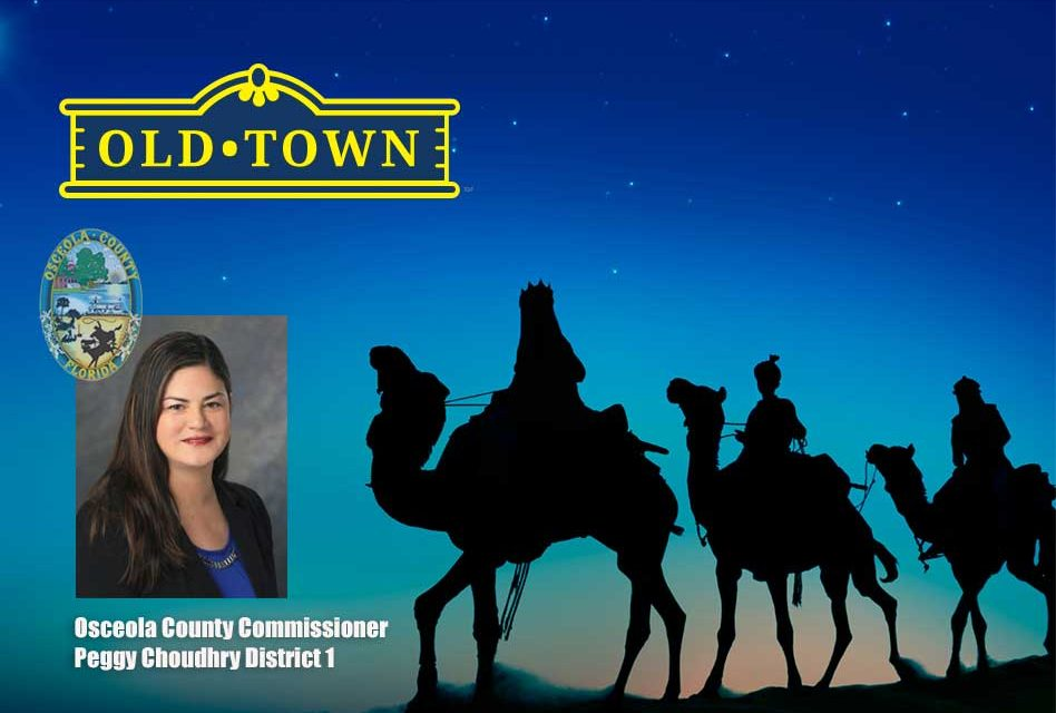 The Three Kings Along With Commissioner Peggy Choudhry Will Deliver Good Cheer at Old Town Sunday