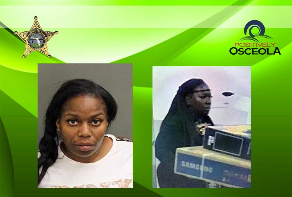 Two Women Steal TVs from Walmart in Kissimmee, One Pepper Sprays Employee to Get Away