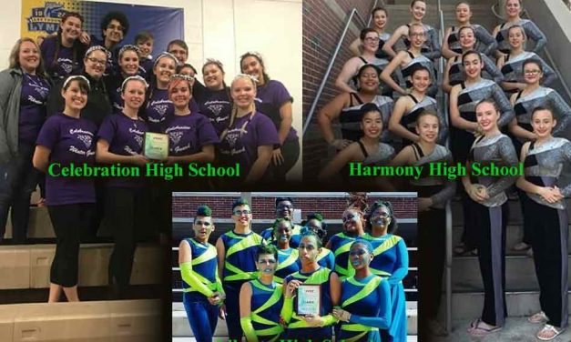 Three Osceola Schools Place in 2019 Florida Federation of Color Guard Circuit Premiere Contest
