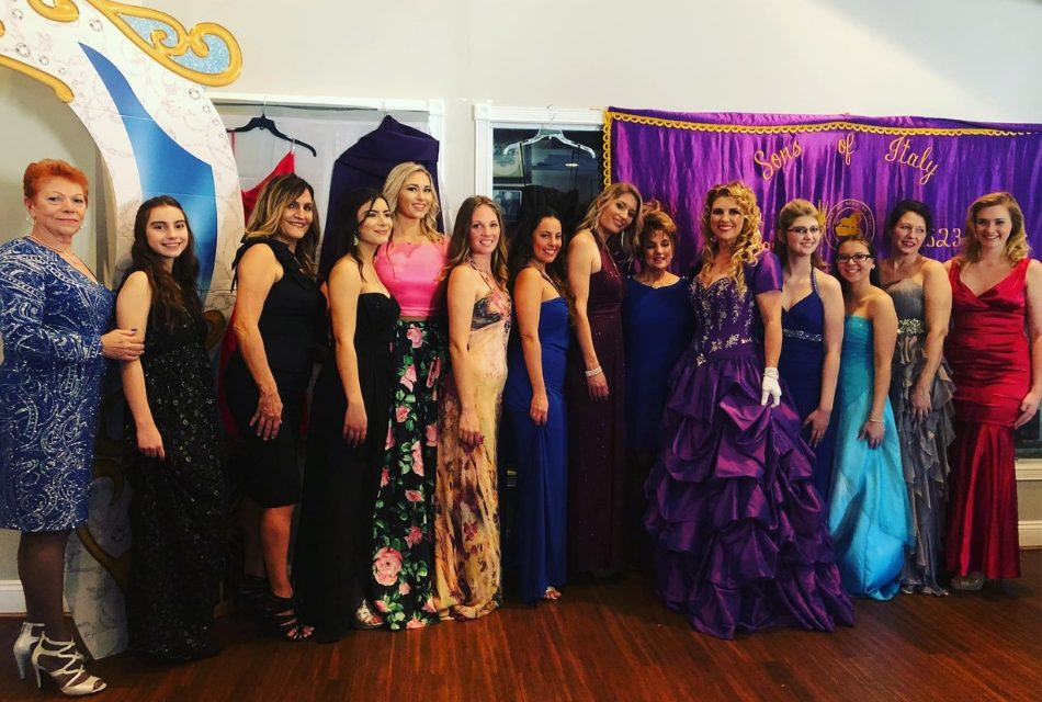 Sons and Daughters of Italy Event Makes High School Prom Dresses and Scholarships a Reality
