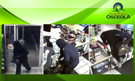 Osceola Deputies Requesting Community's Help in Locating Kissimmee Armed Robbery Suspect