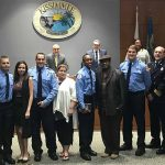 Kissimmee Swears in Four New Fire Fighters at Commission Meeting