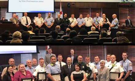 Osceola Commissioners Show Appreciation to First Responders