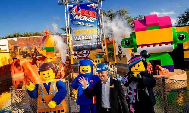 LEGOLAND Florida Resort to Open THE LEGO MOVIE WORLD on March 27