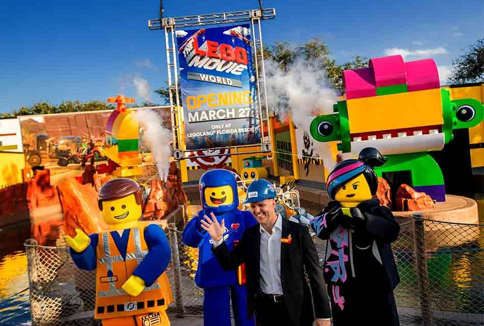 LEGOLAND Florida Resort to Open THE LEGO MOVIE WORLD on March 27