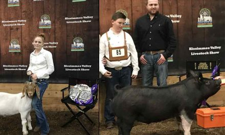 2019 KVLS Champion Market Hog and Goat Winners