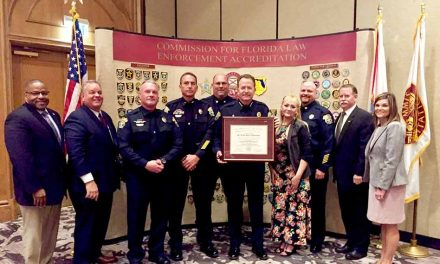 St. Cloud Police Department Awarded Certificate of Accreditation from CFA