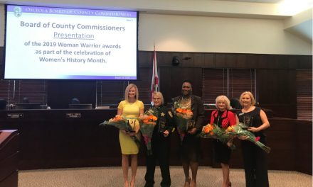 Osceola County Commissioners Recognize Five 'Woman Warrior' Honorees for Women's History Month