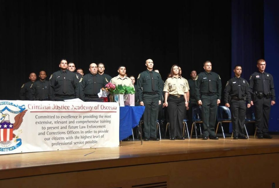Cadets of Class 2018-03 Graduate from Criminal Justice Academy of Osceola