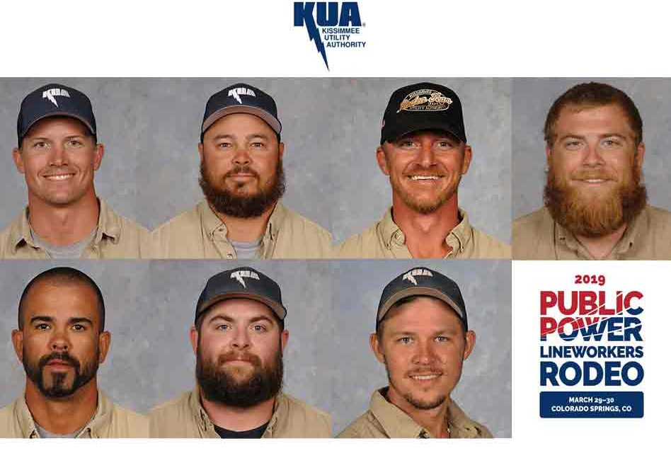Kissimmee Utility Authority Linemen to Compete in National Lineworker Rodeo in Colorado