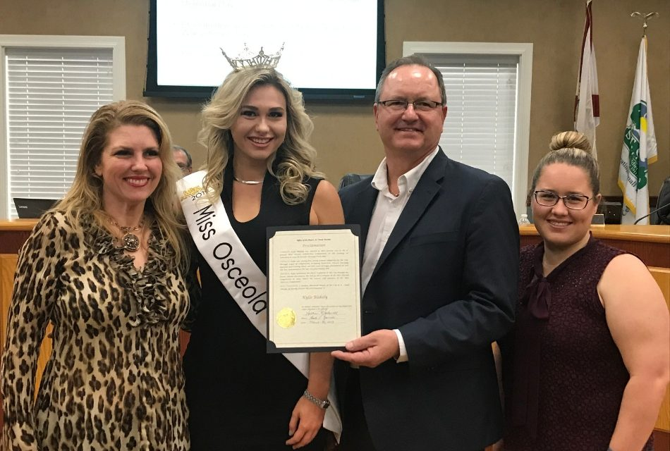 Kylie Blakely, 5th Generation Osceola County Resident and Miss Osceola 2019