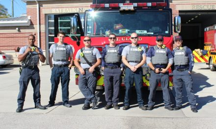St. Cloud Fire Rescue Firefighters Outfitted with Ballistic Vests