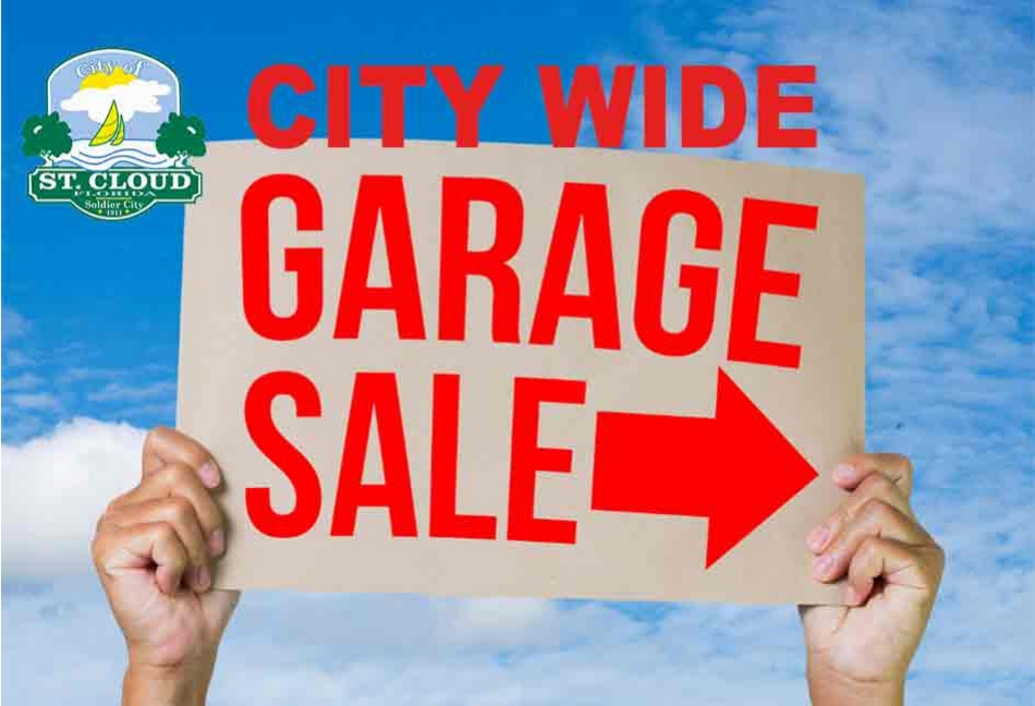 City of St  Cloud Authorizes Two City-Wide Garage Sales