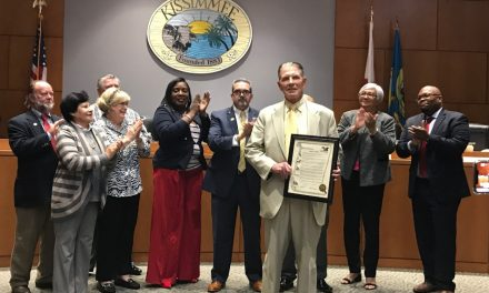 City of Kissimmee Honors KUA President James C. Welsh for 36 Years of Service