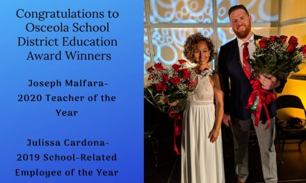 Osceola School District Announces Teacher of the Year and School-Related Employee of the Year