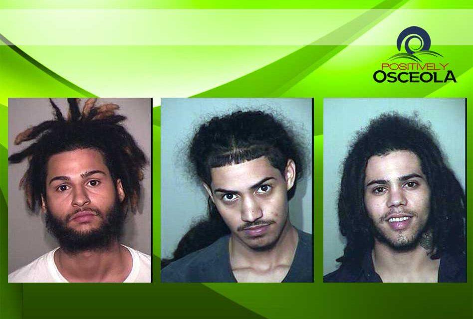Three Men arrested in Osceola County Murder of Innocent Bystander