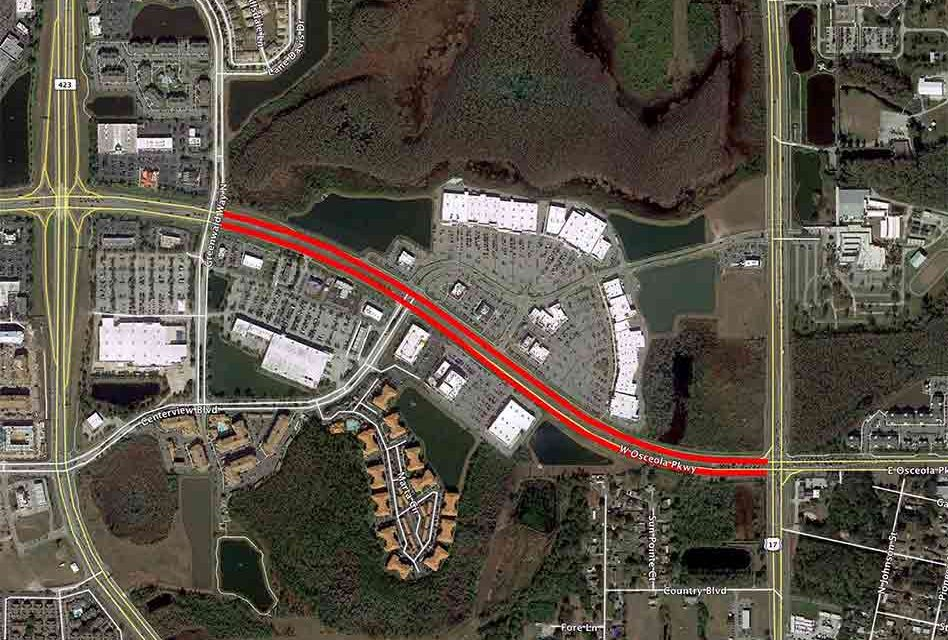 Community Traffic Alert: Osceola Parkway to Undergo Resurfacing