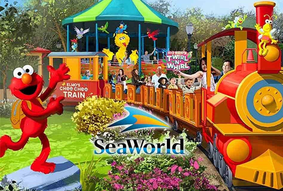 Sesame Street at SeaWorld Orlando to Open to the Public March 27, 2019