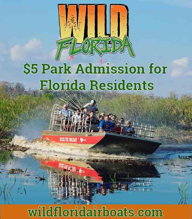 Wild Florida Resident Discount