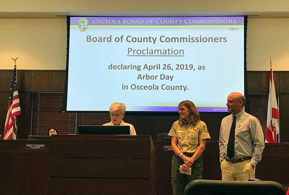 Celebrate Arbor Day in Osceola County on April 26, 2019