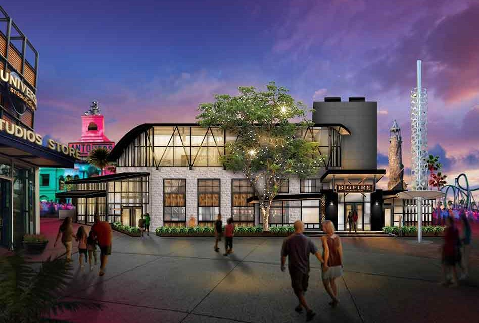 New Universal Citywalk Restaurant, Bigfire, Brings Fireside Dining Experience Directly To Guests