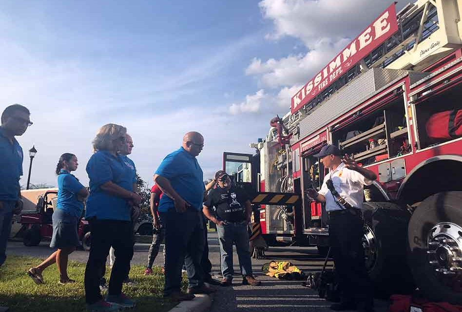 Kissimmee Fire Department Heats Things Up During School of Government Class