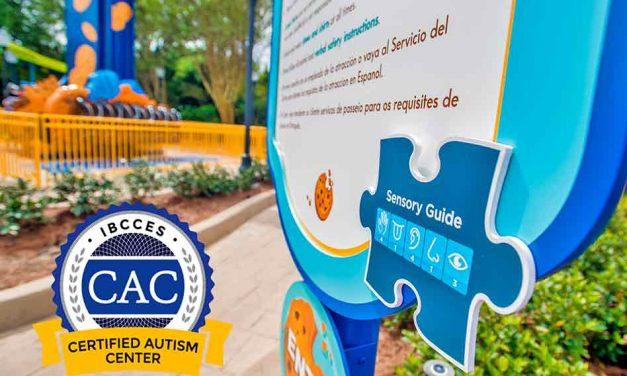SeaWorld Orlando Officially Designated as a Certified Autism Center.