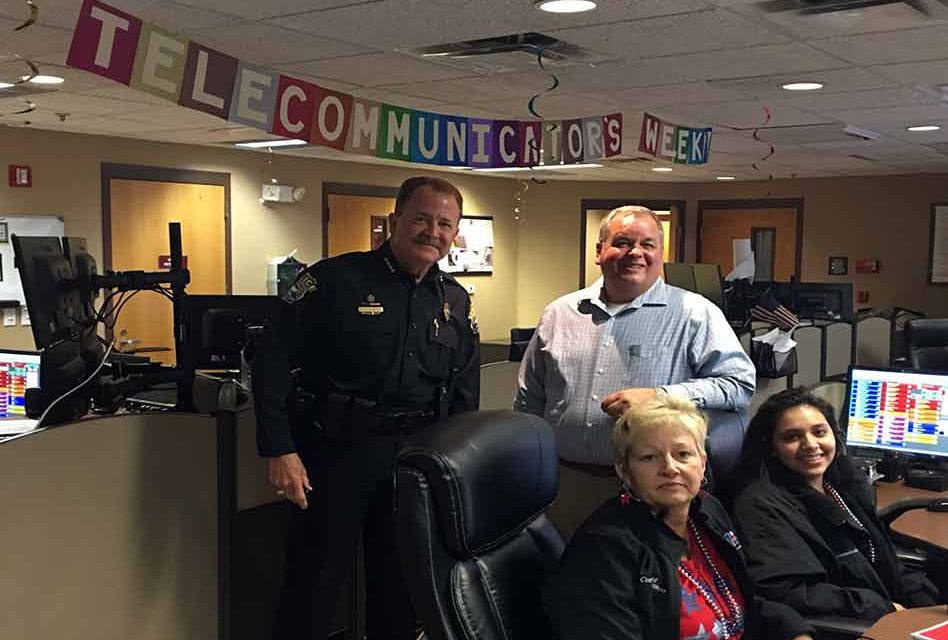 St. Cloud Police Department Celebrates National Public Safety Telecommunications Week