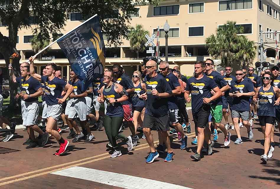 Osceola County Law Enforcement Supports Special Olympics in 2019 Torch Run