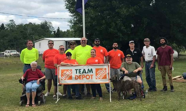 Veteran Receives Wheelchair Ramp With Help From Osceola Council on Aging and Home Depot of St. Cloud
