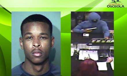 Osceola Deputies Arrest Kissimmee Hotel Armed Robbery Suspect