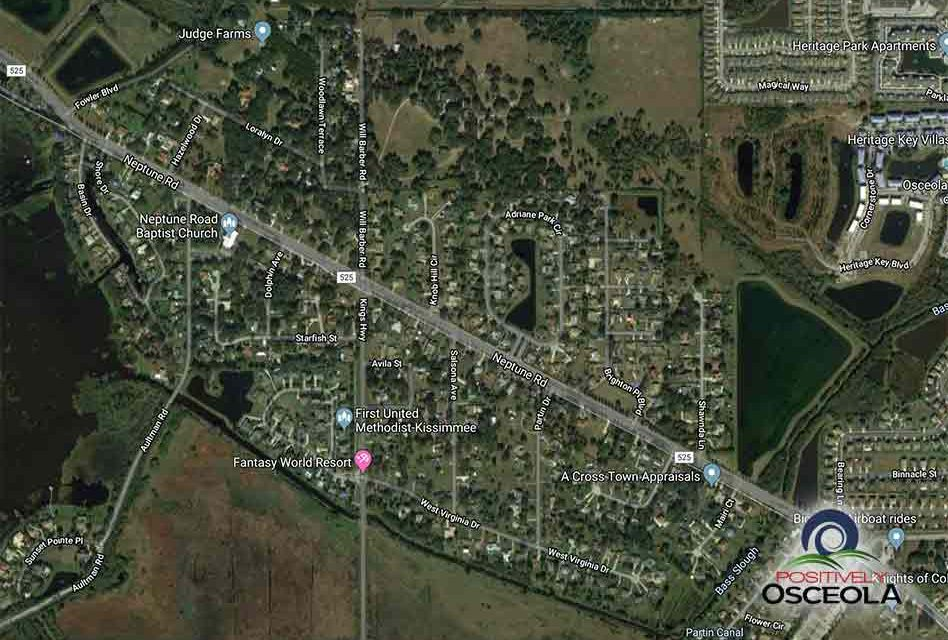 Osceola County to Hold Public Meeting About Proposed Neptune Road Improvements Thursday, April 11