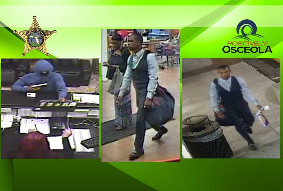 Osceola Deputies Continue to Search for Kissimmee Hotel Armed Robbery Suspect