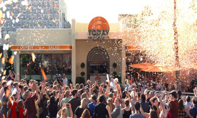 Universal Studios Celebrates Grand Opening of the TODAY Cafe