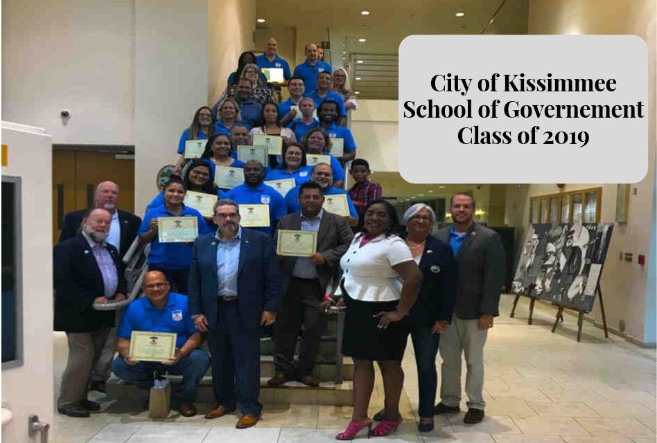 Students Graduate from City of Kissimmee School of Government Class