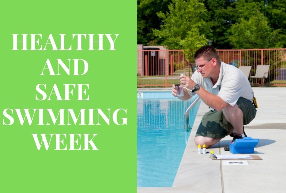 "Healthy and Safe Swimming Week Educates Swimmers on ""Pool Chemistry"""