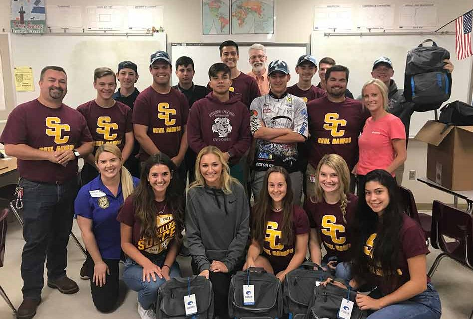 Eighteen St. Cloud High School Anglers Win the Costa Kick Plastic Conservation Project