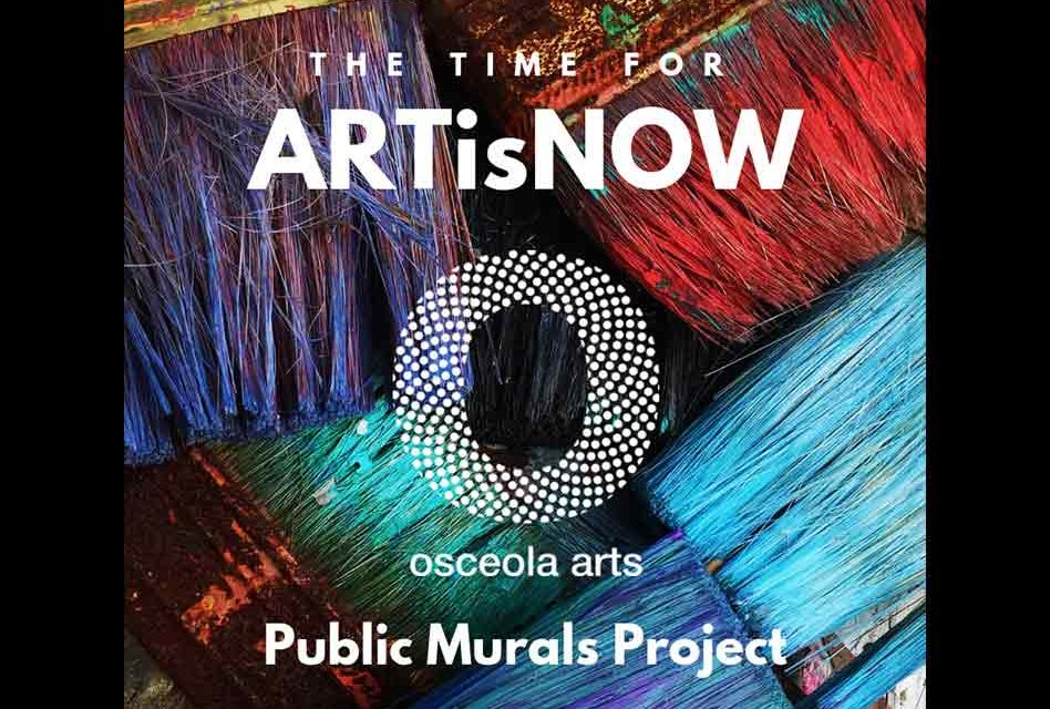 Osceola Arts Presents Public Murals Project ARTisNOW in Downtown Kissimmee