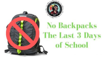 Osceola County School District Suspend Use of Backpacks Last 3 Days of School