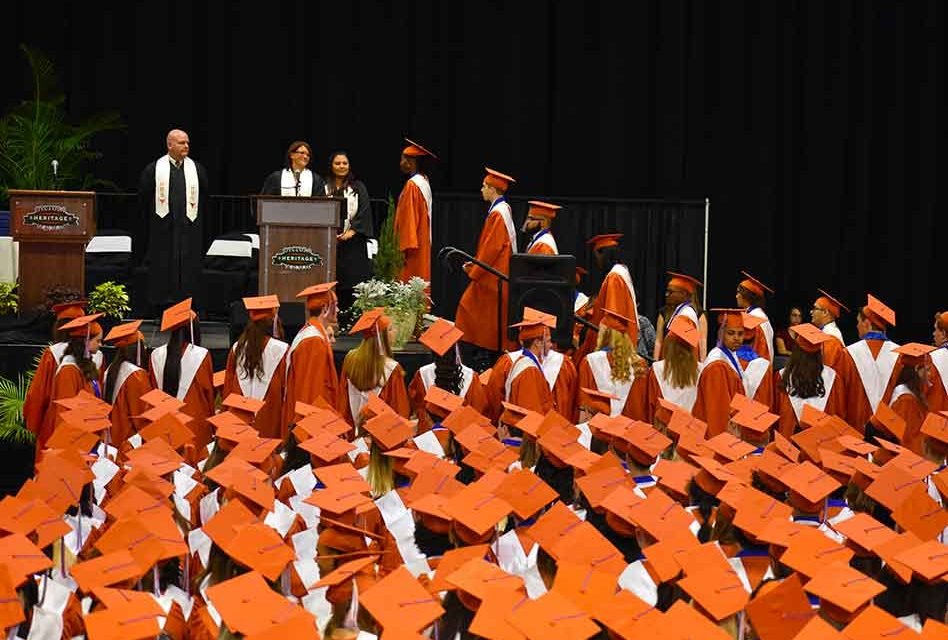 School District of Osceola County's Class of 2019 Graduation Schedule