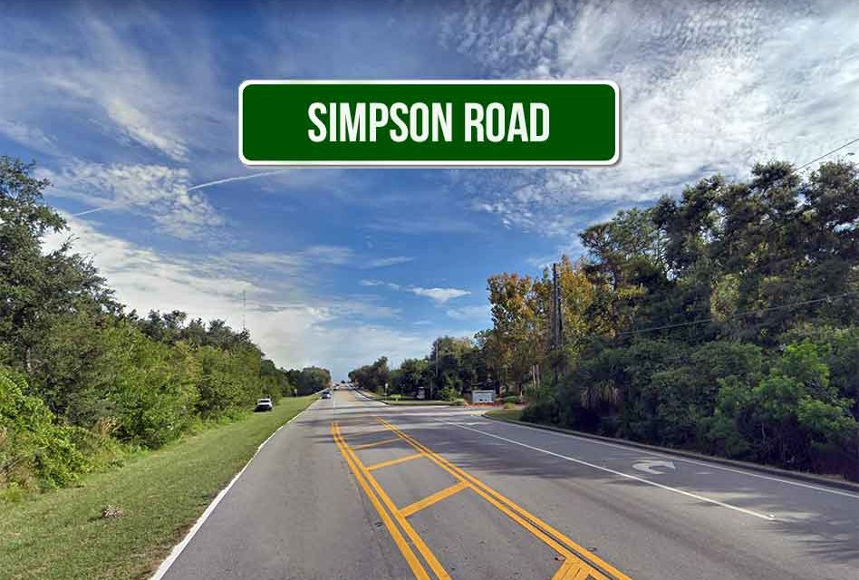 Osceola County Schedules Public Meeting In Regards to Proposed Improvements to Simpson Road