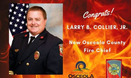 Osceola County Approves Collier as New Fire Chief, Effective June 22nd