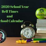Osceola School District Announces 2019-20 Bell Times and School Calendar